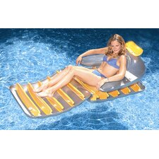 "74"" Folding Reflective Sun Lounger"