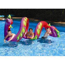 Two Headed Curly Serpent Pool Toy
