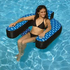 Covered Suspended Chair Pool Lounger