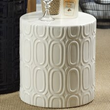 Seaside Embossed Oval Design Stool