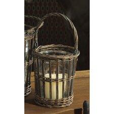 Equestrian Glass Lantern