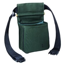 <strong>Bob Allen Sportswear</strong> Divided Shell Pouch with Belt in Green