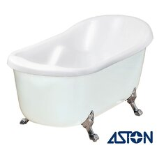 "67"" x 35"" Acrylic Claw Foot Slipper Tub"