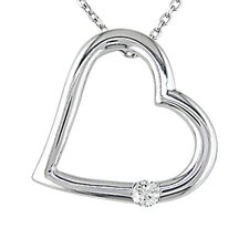 <strong>Amour</strong> Diamond Heart Pendant