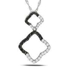 Singapore-chain Round-cut Half Carat of Diamond Fashion Pendant