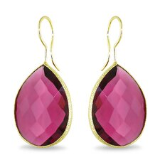 Pear Cut Gemstones Drop Earrings