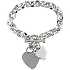 Sterling Silver Link Chain Bracelet