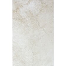 "Montana 16"" x 10"" Ceramic Wall Tile in Ivory"