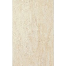 "Classico 16"" x 10"" Ceramic Field Tile in Matte Ivory"
