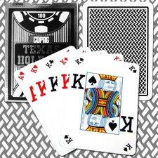 Poker Cards Texas Holdem Design Index in Black