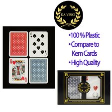 Da Vinci Ruote Poker 2 Deck Set