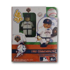 MLB Commemorative 1962 New York Mets Away Uniform Building-Toy Figure
