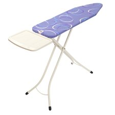 Ironing Board with Solid Steam Unit Holder