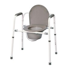 <strong>MedPro</strong> Versatile Homecare Commode Chair with Adjustable Height