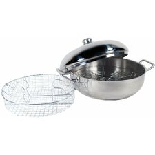 4 qt. Stainless Steel 4 Piece Cook-All Pan Set