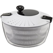 Salad Spinner with Locking and Straining Lid