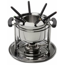 11 Piece Stainless Steel Fondue Set