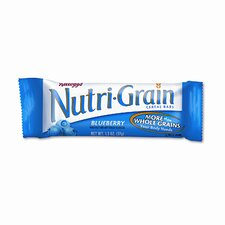 Nutri-Grain Cereal Bars, Blueberry, Indv Wrapped 1.5oz Bar, 16 Bars/bx