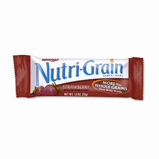 Nutri-Grain Cereal Bars, Strawbrry, Indv Wrapped 1.5oz Bar, 16 Bars/bx