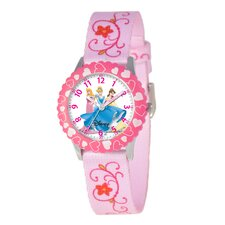 Kid's Princess Time Teacher Watch in Pink with Pink Bezel