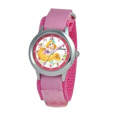 Kid's Rapunzel Time Teacher Watch in Pink