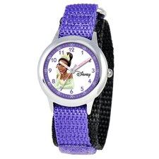Kid's Tiana Time Teacher Watch in Purple