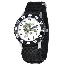 Kid's Buzz Time Teacher Watch in Black