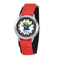 Kid's Alien Time Teacher Watch in Red