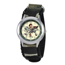 <strong>Disney</strong> Kid's Toy Story Time Teacher Watch in Green