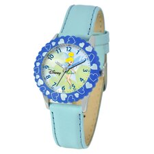 Kid's Tinker Bell Time Teacher Watch in Blue
