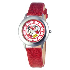 Girls Tween Glitz Minnie Mouse Watch
