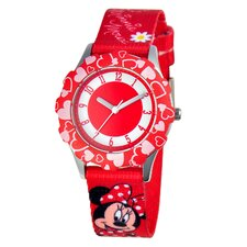 Girls Tween Minnie Mouse Watch