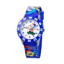 Boy's Phineas Time Teacher Watch
