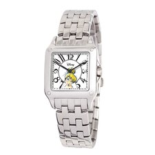 <strong>Disney</strong> Women's Tinker Bell Perfect Square Bracelet Watch