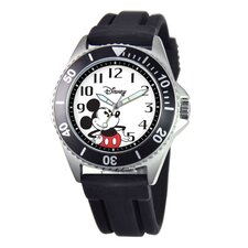 Men's Mickey Mouse Honor Rubber Strap Watch