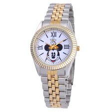 Kid's Minnie Mouse Two-Tone Status Large Watch