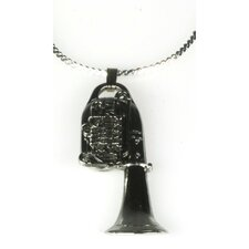 <strong>Harmony Jewelry</strong> Tuba Necklace in Silver