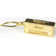Marshall Head Amp 1959 SLP Vintage Necklace in Gold