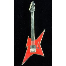 <strong>Harmony Jewelry</strong> BC Rich Ironbird Electric Guitar in Gold and Red