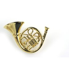 French Horn Stick Pin in Gold