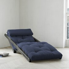 Fresh Futon Figo with Wenge Frame in Navy