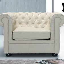 "Leder-Sessel ""Chesterfield"""