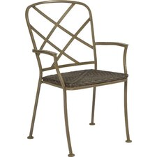<strong>Woodard</strong> Aberdeen Stacking Dining Arm Chair