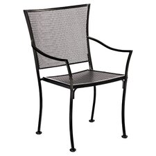 <strong>Woodard</strong> Amelie Stackable Bistro Dining Arm Chair