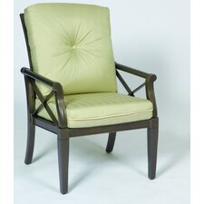 <strong>Woodard</strong> Andover Dining Arm Chair Cushion