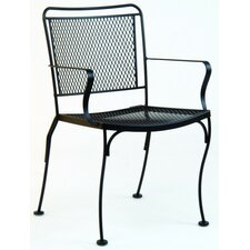 <strong>Woodard</strong> Constantine Stacking Dining Arm Chair