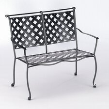 <strong>Woodard</strong> Maddox Wrought Iron Garden Bench