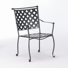 <strong>Woodard</strong> Maddox Stacking Dining Arm Chair
