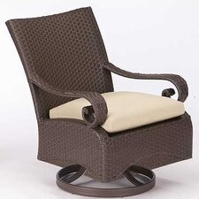 <strong>Woodard</strong> Carlton Wicker Lounge Chair