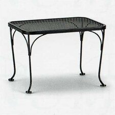 Mesh Top Occasional Side Table